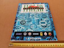 ALBUM FIGURINE AUTO COLLEZIONE ITALIA LA STAMPA '95 COMPLETO -1 ALFA FIAT LANCIA