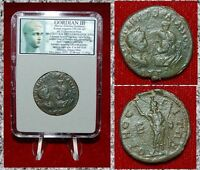 Ancient Roman Empire Coin Of GORDIAN III Large Sestertius Serapis ODESSOS Mint