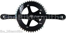 SUGINO MESSENGER BLACK 165mm Crank Set Track Fixed Gear CNC Made in Japan 130BCD