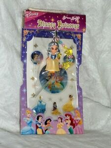 Disney Princess with Stickers Japan Cell Phone Strap E