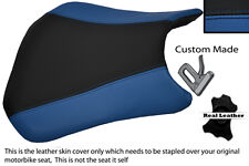 BLACK & ROYAL BLUE CUSTOM FITS HONDA CBR 600 RR5 RR6 05-06 FRONT SEAT COVER
