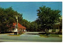 Modern Kozy Kort Motel Drive In-Brush-Colorado-Vintage Advertising Postcard