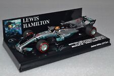 Minichamps F1 Mercedes W08 Lewis Hamilton 1/43 Mexico GP 2017 World Champion