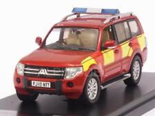 Mitsubishi Pajero UK Derbyshire Fire-Rescue Service 2010 1:43 PREMIUM X PRD502