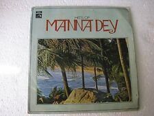 Hits of Manna Dey ECLP 2518 Bengali LP Record India NM-1451
