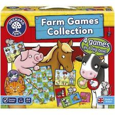 Orchard Toys Farm Games Collection - 4 games in 1 box