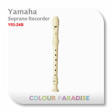 Yamaha Plastic Soprano Recorder YRS-24B (School Clarinet) + Warranty