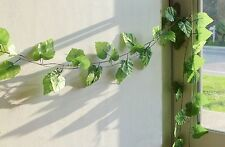"""10x 90"""" Grape Leaf Vines Artificial Ivy Hanging Home Party Wall Garland Decor"""