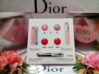 "Dior Lip Plump & Glow To The MAX◆☾Trial Card 4 x 0.4g/0.1oz☽◆~ ""FREE POST"""