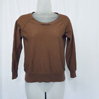 J Crew Sweater Size M 100% Merino Wool Round Neck Long Sleeves Preppy Cute Cozy
