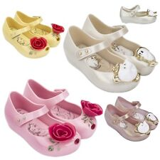 Beauty And The Beast Girl Kids Jelly Shoes Party Chip Cup Princess Ballet Disney
