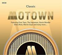 CLASSIC MOTOWN (Best Of / Greatest Hits) 3 CD SET (2016)