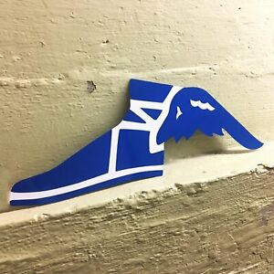 Goodyear Flying Shoe Retro Metal Vintage Sign Reproduction Man Cave Shop Cool HD