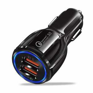 Caricabatteria USB 3.0, 30W/6A,Caricatore Cellulare Per Auto Quick Charge,Rapida