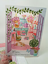 Paper Wonder MOTHERS DAY Greeting Card **Displayable* Any mom friend garden shed