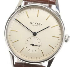 NOMOS Orion Small seconds Silver Dial Hand Winding Men's Watch_590403