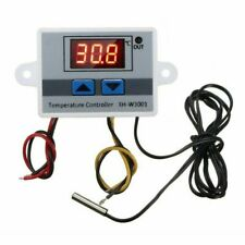 220V Digital LED Temperature Controller 10A Thermostat Control Switch Probe H7M3