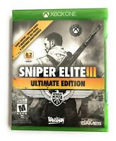 Sniper Elite III -- Ultimate Edition (Microsoft Xbox One, 2015) BRAND NEW
