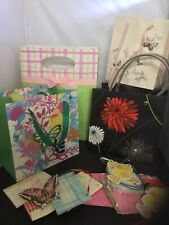 Joblot Of Gift Bags,tags And Envelope Tags