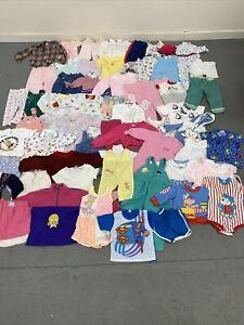 VTG 80s 90s CHILDRENS CLOTHING LOT 58 PCS BOYS GIRLS OSH KOSH HEALTH-TEX & MORE