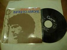 "JAMES JOTTI""INFINITO AMORE-disco 45 giri CETRA1974"" PROG.Italy"