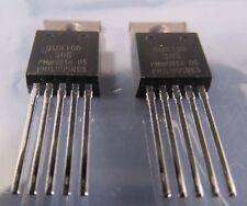 2 Stück - BUK106-50S - PHILIPS PowerMOS TOPFET - 50V 50A 125W - TO220-5