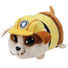 "Teeny Tys Paw Patrol Rubble Bull dog Plush  Stuffed Animal Doll Toy  4"""