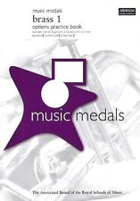 ABRSM: Music Medals Brass 1 Options Practice Book AB5083