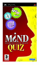 Mind Quiz (Sony PSP, 2006) - WITH MANUAL FREE POST