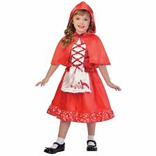 Girls Red Riding Hood 7-8 Yrs Fancy Dress World Book Day Costume Outfit Kids