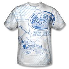 Star Trek Enterprise Bridge Zoom Front Side Sublimation Print T-Shirt SIZE XXXL