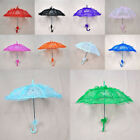 Women Lace Flower Sun Umbrella Gril Parasol Bridal Wedding Party Decoration