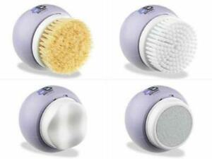 Electric Body Brush, Rotating 4 in 1 Body Cleansing System, Exfoliation Set
