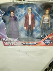 Dr Who The Twelfth Doctor Collector Figure Set  New