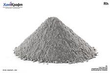 Rhodium Metal Powder 999 Rh
