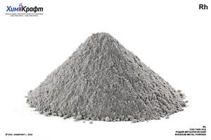 Rhodium metal powder, 99.9% - Rh