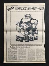 CARLTON FOOTBALL CLUB THE SUN WEG FOOTY IRON ON FROM 1980