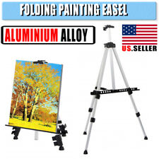 Aluminium Alloy Artist Folding Painting Easel Tripod Display Stand With Bag