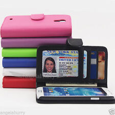 Leather Mobile Phone Flip Cases for Samsung Galaxy S