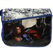 Batman v Superman Womans Mens Adult Boys Satchel Messenger School Bag Womens