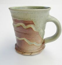 Stoneware Tall Tea Coffee Mug Rustic BH Handmade Steve Woodhead Ceramics