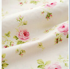 Width 160CM*50CM Cotton rose Fabric For Baby Cloth kids Bedding tecidos tissue