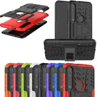 For Motorola Moto G8 Plus, XT2019 Armour Shockproof Stand TOUGH Phone Case Cover