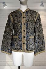 BREATHTAKING Vintage 1970s Indian Print YVES SAINT LAURENT RIVE GAUCHE Jacket M