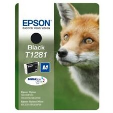 Epson T1281 T 1281 Genuine Original Black Printer Ink Cartridge