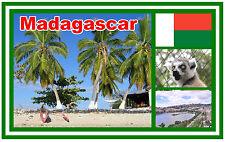 MADAGASCAR - SOUVENIR NOVELTY FRIDGE MAGNET - BRAND NEW - GIFT / XMAS