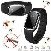 Mosquito Repellent Bracelet Ultrasonic Insect Pest Repeller Wristband Kids/Adult