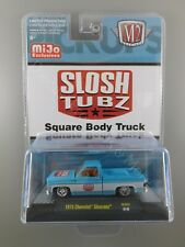 M2 Machines MiJo 1975 CHEVROLET SILVERADO Slosh Tubz Square Body Truck 1:64