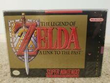 The Legend of Zelda: A Link to the Past Complete CIB Super Nintendo SNES