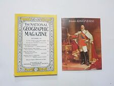 National Geographic Sep 1953 LondoN & BRITAINS KING & QUEENS